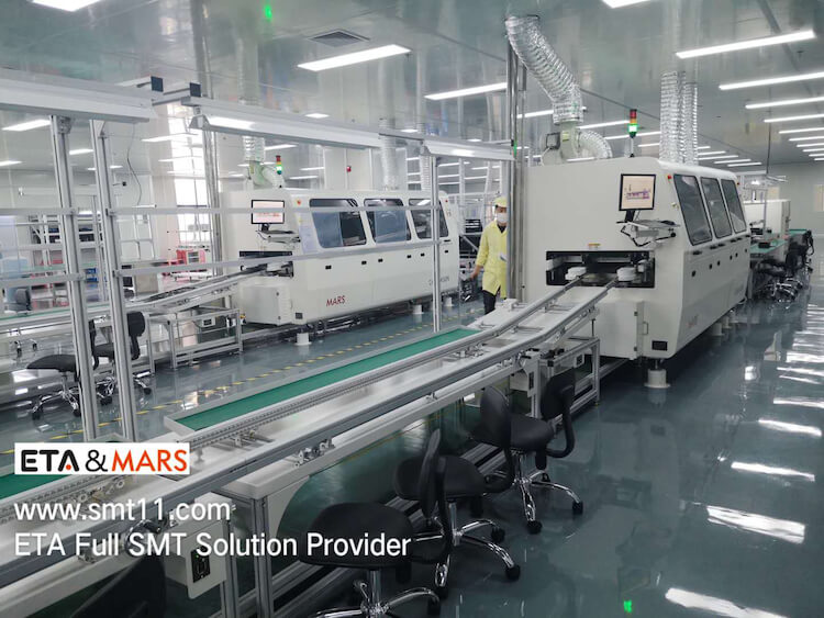 Fully Automatic Hanwha SMT SMD Production Line
